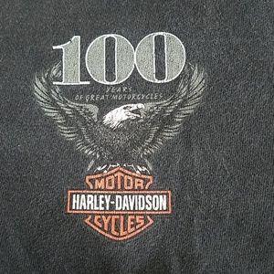 Harley-Davidson 100 anniversary t-shirt